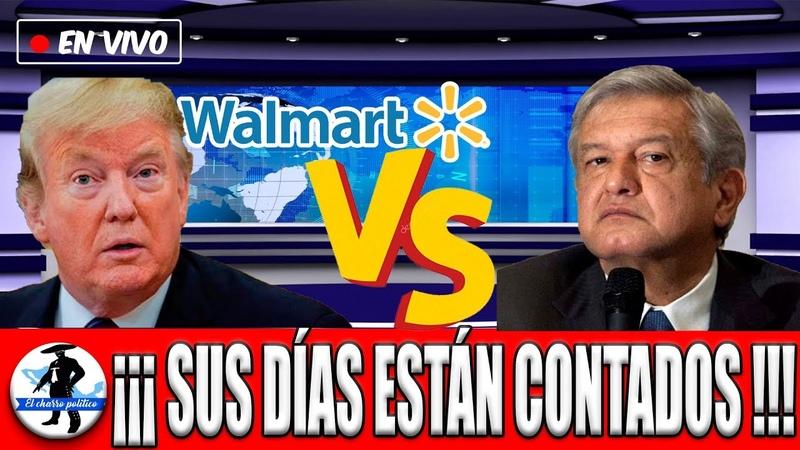 Amlo Se La Cumple a Walmart: Descubren Fosa De Corrupción; Deben Pagar Millones o Irían a Prisión