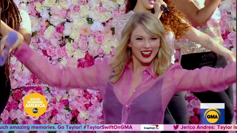 Taylor Swift performs 'You Need To Calm Down' on Good Morning America