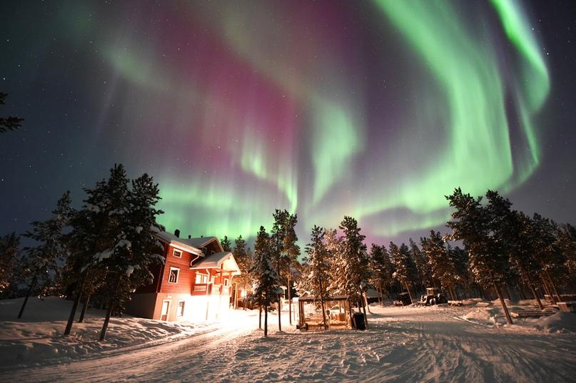 Где можно увидеть северное сияние, изображение №7