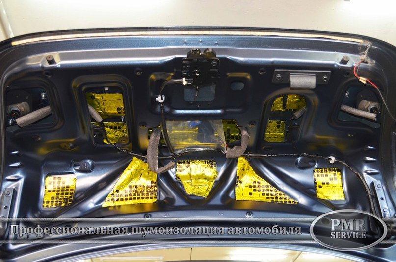 Шумоизоляция Nissan Almera, изображение №17