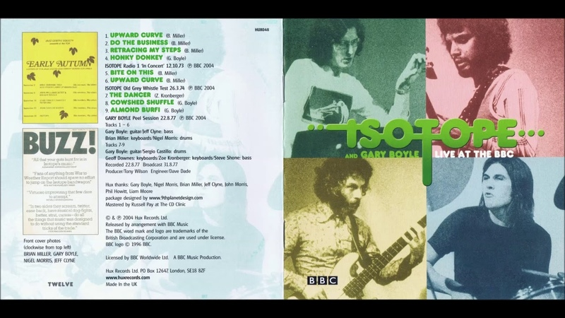 Isotope And Gary Boyle – Live At The BBC (1973-77)