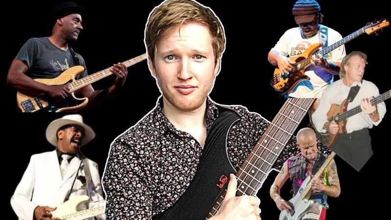 Top 5 FUNKIEST Slap Bass Lines