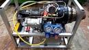 Турбостартер ТС-21- замер тяги реактивного двигателя