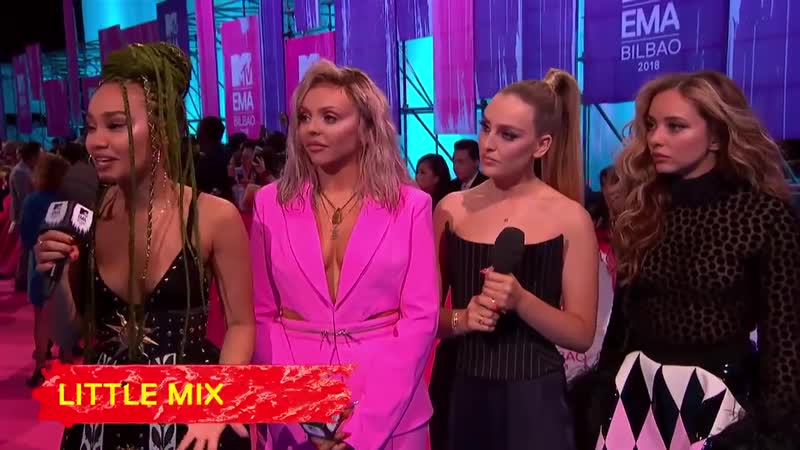 MTV EMA - THE QUEENS HAVE ARRIVED FOR THEIR FIRST EVER EMA! @tiktok_us mtvema