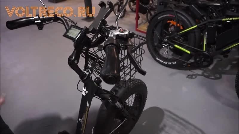 АЭВ_Трехколесный складной электровелосипед трицикл PANDA 20 (750w Li-ion 15Ah) 2019