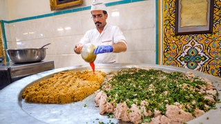 Persian KINGS of Minced Lamb SHOCKING IRANIAN FOOD in Isfahan, Iran