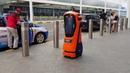 Robot traffic cop - autonomous robot to manage traffic flow at Jewel Changi Airport / Certis