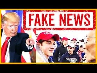 CNN BUSTED! Covington Catholic Students Falsely Accused by Fake News CNN live - CBS & Fox News React