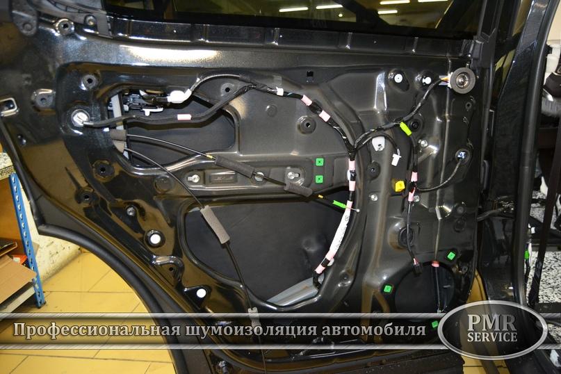 Шумоизоляция Lexus LX, изображение №13