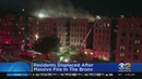 Residents Displaced After Massive Fire In The Bronx