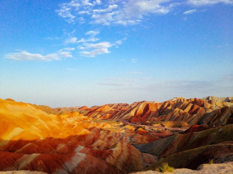 Китай: цветные горы Чжанъе-данься, изображение №8