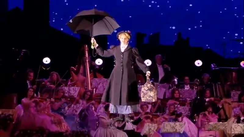 André Rieu - Supercalifragilisticexpialidocious, из кф «Мэри Поппинс» (Mary Poppins), 1964 г.