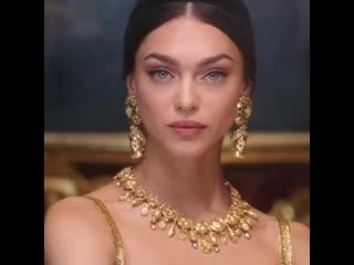 Zhenya Katava for Dolce & Gabbana Alta Gioielleria