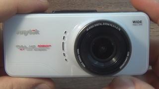 Авто видеорегистратор Anytek AT66 A.Распаковка.Обзор.Пример видео.