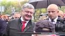 Президент України особисто проїхав за кермом: як відкривали дорогу Харків-Охтирка