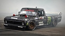 Ken Block's Hoonitruck Doing MAD AWD Donuts @ FoS Goodwood 900HP 1977 Ford F150 Twin Turbo