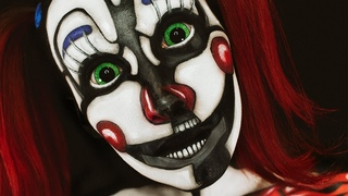 FNAF Circus Baby Makeup/Body Paint Tutorial