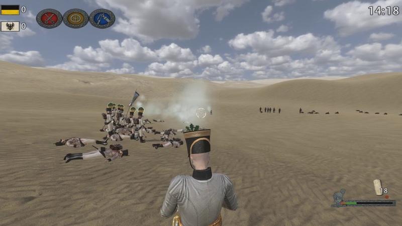 Napoleonic Wars 1 играю с Рамазаном чисто по фану