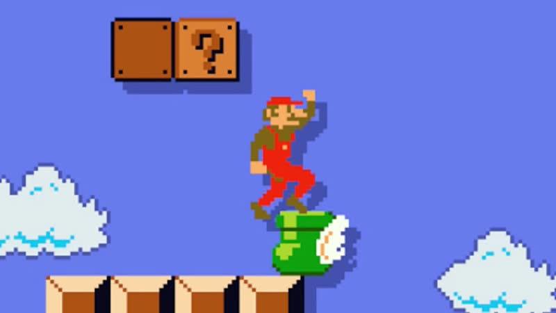 Wierd Mario - Switch On