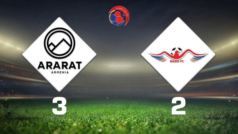 Ararat-Armenia-2 - Masis 32, Armenian First League 201920, Week 07