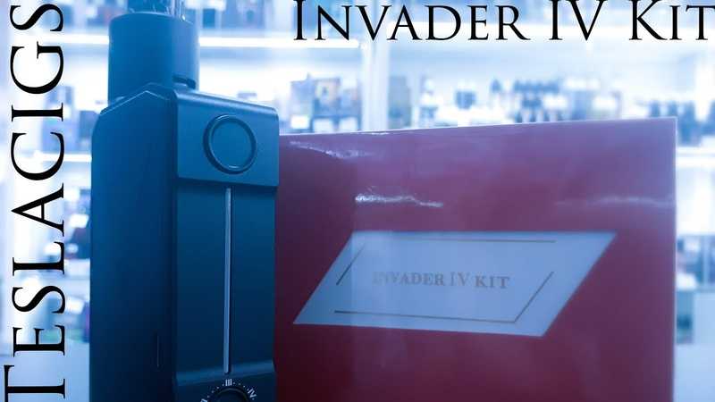 Teslacigs invader 4 Kit Новая канистра