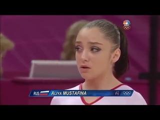 Aliya Mustafina UB TF 2012 Olympics