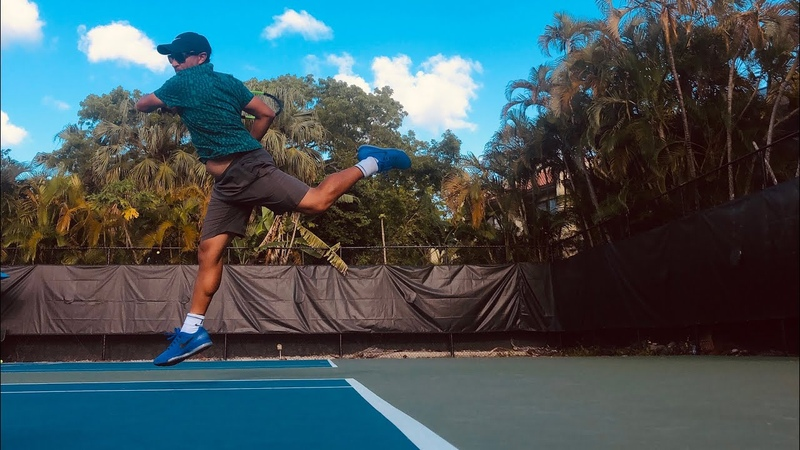 Tennis Training compilation high performance with Coach Dabul and D1 College players