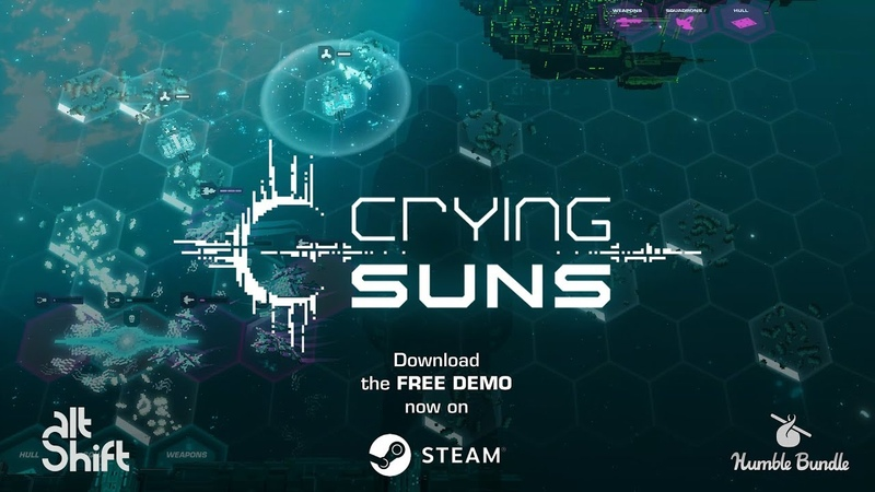 Presented by Humble Bundle: Crying Suns - Launch Trailer
