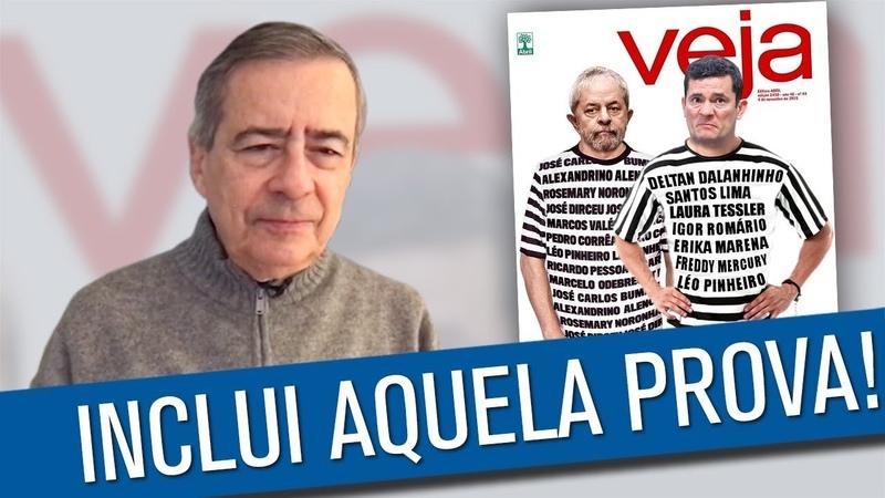Veja prendeu o Lula e vai prender o Moro
