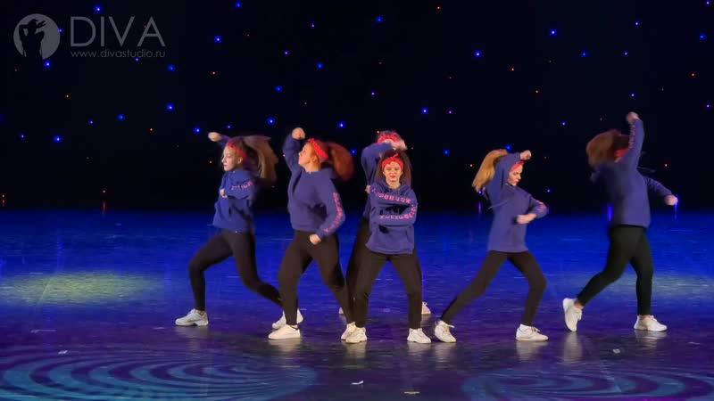 Hip-hop (хип-хоп), хореограф Екатерина Данник - танцевальная школа DIVA Studio
