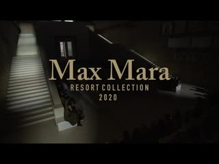 Max mara | resort 2020 | полное шоу.