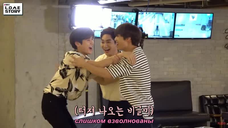 рус саб NU'EST L O Λ E STORY EP 11 NU'EST in the bowling RUS SUB