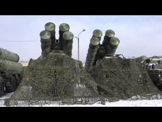 Дежурство С 400 в Хабаровске