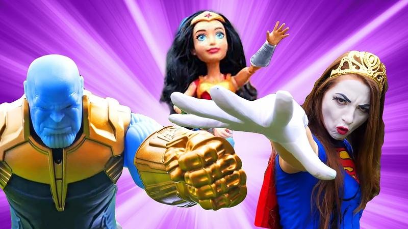 L'usine des héros La Mimesse vs Thanos qui est le plus fort