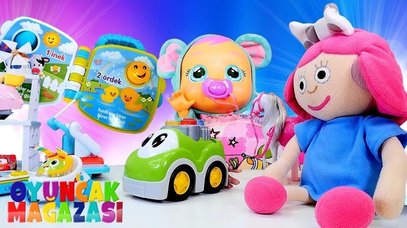 Ayşenin oyuncak mağazası. Smarta kardeşine oyuncak alıyor!