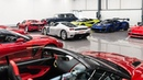$50 MILLION of Supercars at NVN London Launch!!