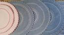 Красивые салфетки строчим по кругу - расскажу и покажу пошагово