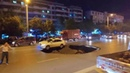 Newsflare -Car left overhanging sinkhole that opened up on Chinese road
