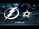 Tampa Bay Lightning vs Dallas Stars Jan 27 2019 NHL 19 20 Game Highlights Обзор матча