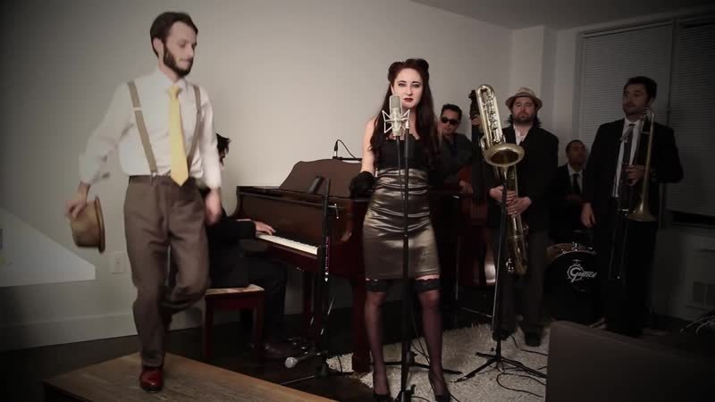 Just Tap Dance - Vintage 1940s Jazz - Lady Gaga cover feat. Robyn Adele Anderson