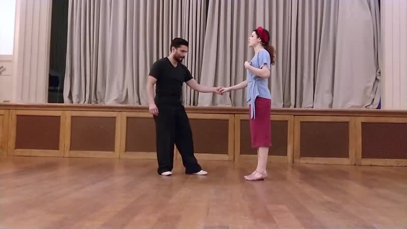Advanced Combos Advanced Lindy Hop with Sharon Josh The Wednesday Club 6th December 2017