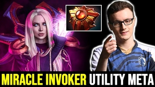 MIRACLE Creating New Meta After TI9? Utility Build Invoker  Dota 2