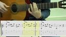 Chords Ноты табы аккорды Аллилуйя на гитаре