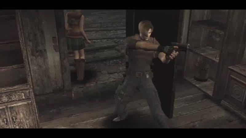 Resident Evil 4 Papa Roach - Not Listening