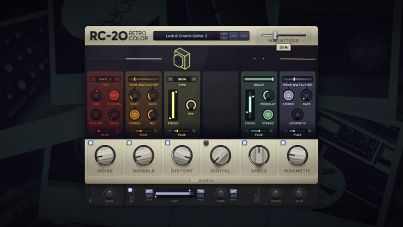 RC-20 Retro Color — Preset Preview