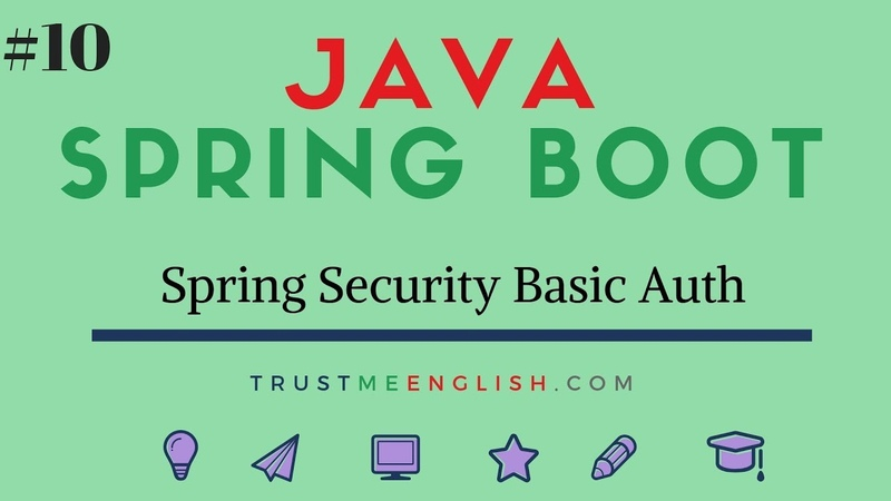 10 Spring Security Basic Auth with Postman