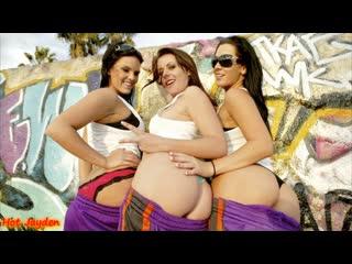 Jayden, penny flame, mackenzee pierce ballin in venice beach