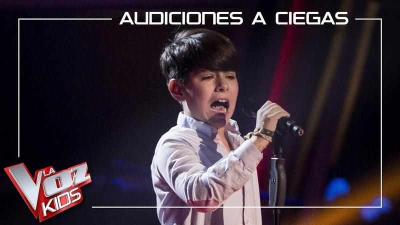 Pablo Monge canta 'Vámonos ya pa casa' | Audiciones a ciegas | La Voz Kids Antena 3 2019