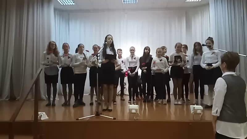 БИТВА ХОРОВ 6 классы