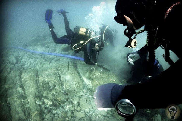 Неопознанные структуры найдены под морским дном у берегов Крита